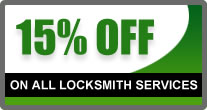 White House 15% OFF On All Locksmith Services
